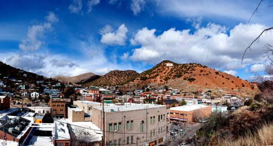 the town of Bisbee, Arizona. Beautiful.