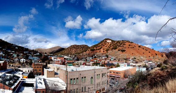the town of Bisbee, Arizona. Beautiful.