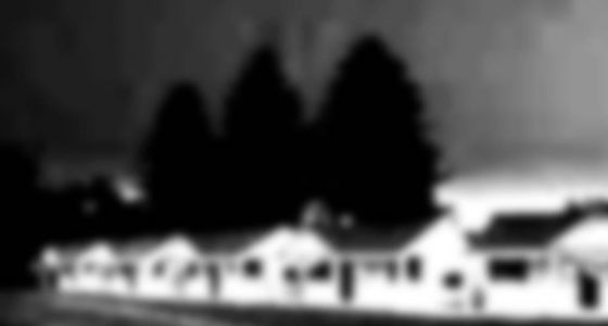 blurry shot of motorlodges, a thing of the past, unfortunately