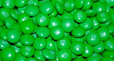 green M&Ms make your parts feel funny